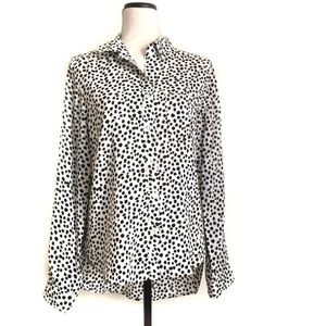 Velvet Heart women's blouse shirt size L